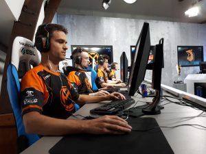 Ons CS:GO team in actie.