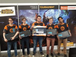Het League of Legends team won de competitie.