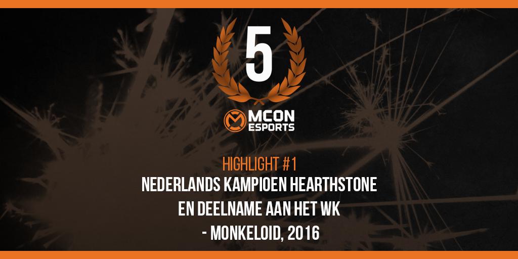 Highlight 1: Nederlands Kampioen Hearthstone